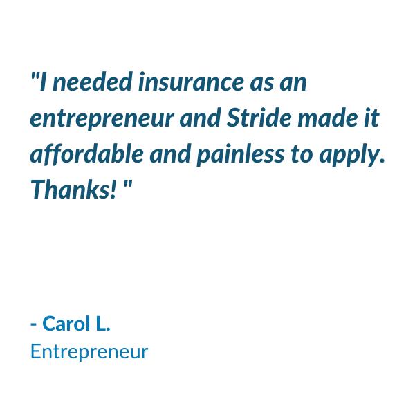 Testimonial - Carol