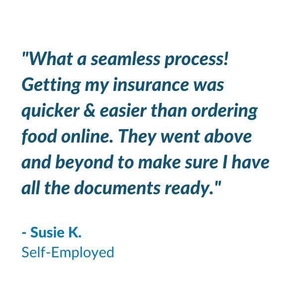 Testimonial - Susie